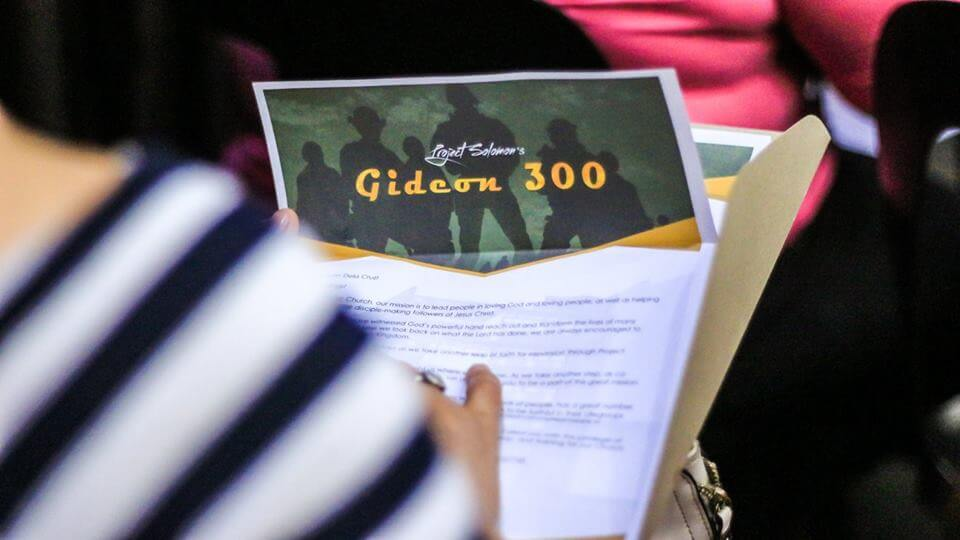 Here Comes The Gideon 300!